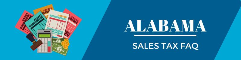 Alabama Sales Tax FAQ