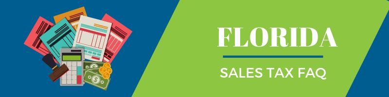 Florida Sales Tax FAQ