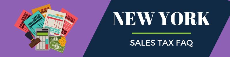 New York Sales Tax FAQ