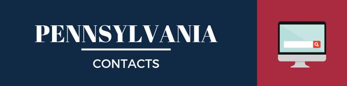 Pennsylvania Sales Tax Contacts