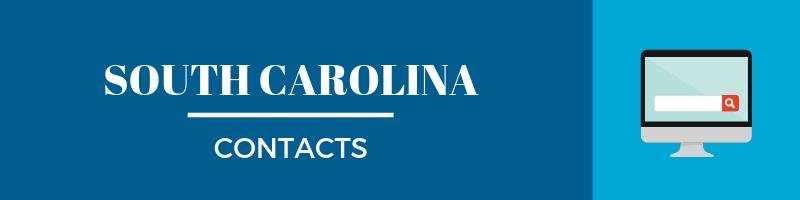 South Carolina Sales Tax Contacts