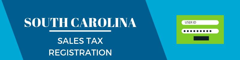 South Carolina Sales Tax Registration
