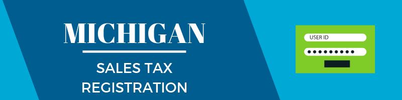 Michigan Sales Tax Registration
