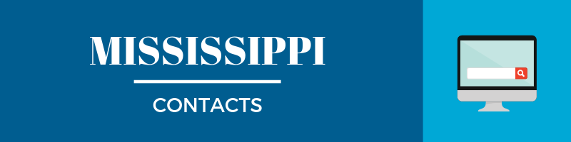 Mississippi Sales Tax Contacts