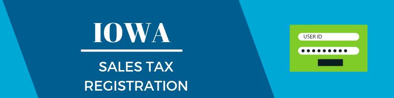 Iowa Sales Tax Registration